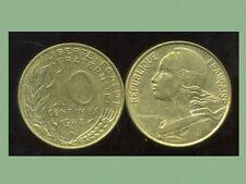 FRANCE  FRANCIA  10 centimes 1983 marianne  ( bis )