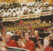 SALVATION ARMY BAND & CHOIR - Onward Christian Soldiers (UK 20 Trk CD Album)
