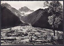 BERGAMO SCHILPARIO 33 Fraz. GRUMELLO VAL DI SCALVE Cartolina FOTOGR. viagg. 1957