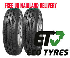 2X tyres 145 80 R13 75T House Brand EcoDriver2