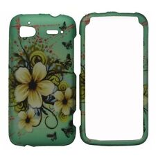Natural Flower Hard Case Phone Cover HTC Sensation 4G