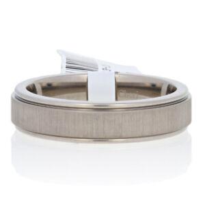 NEW Men's Wedding Band - Titanium & 18k Gold Comfort Fit Ring Size 11