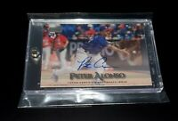 2019 Topps Stadium Club Pete Alonso Mets ROY HR King Certified Authentic Auto