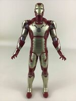 "Arc Strike Iron Man 3 Lights Sounds 10"" Action Figure Toy 2013 Hasbro Marvel"
