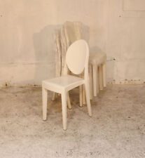Unbranded Plastic Chairs with 6 Pieces