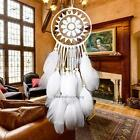 Handmade Dream Catcher with feather wall or car hanging decoration ornament hot
