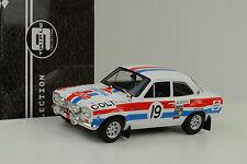 1972 Ford RS 1600 mk1 rally monte carlo #19 losverdaderos Liddon 1:18 tripleta 9