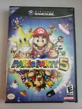 GAMECUBE GAME MARIO PARTY 5,,,, WITH MANUAL ,MUST LOOK,,,,