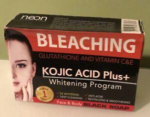 Bleaching Glutathione and Vitamin C&E, Kojic Acid Plus soap