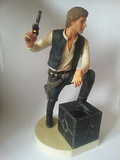 "Official Han Solo 11.8"" Statue (Kotobukiya, Star Wars, 2004) 30cm. - Used"