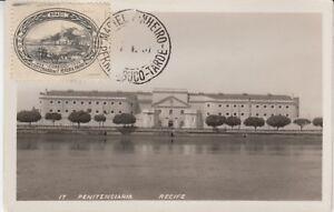 Carte Postale Brésil Recife Penitenciaria Prison 1937