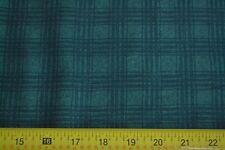 By 1/2 Yd, Dark-Green on Green Plaid Quilting Benartex/Carol Endres, N1068
