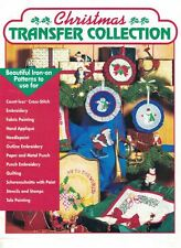 Craftways CHRISTMAS TRANSFER COLLECTION 1991 Iron-On Patterns for Multi Uses