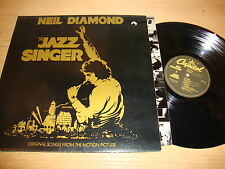 Neil Diamond - The Jazz Singer - LP Record  VG+ VG+