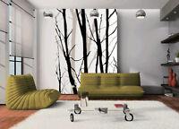 3D Arbre Branche Photo Papier Peint en Autocollant Murale Plafond Chambre Art