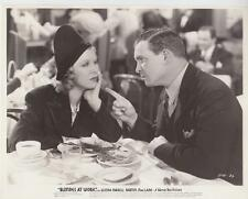"Glenda Farrell & Barton MacLane in ""Blondes at Work"" 1938  Vintage Movie Still"