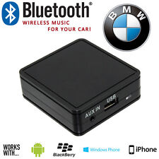 BMW 3 5 7 Series E46 Wireless Bluetooth Streaming Handsfree Interface + Aux In