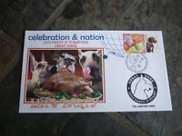 2003 AUSTRALIAN GREAT DANE P STAMP FDC, LETS PARTS STAMP ISSUE