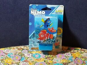 Disney Finding Nemo Kids LED Automatic Night Light On at Dusk Off at Dawn