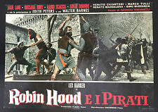 CINEMA-fotobusta ROBIN HOOD E I PIRATI lex barker