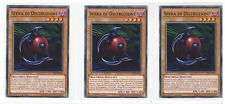 Yu-Gi-Oh 3x Sfera di Distruzione LED2-IT018 Comune Ita