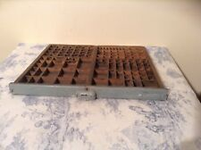 Vintage French Printers Tray Letterpress (1371e)