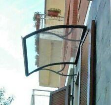 Auvent de porte DIY d'entrée fenêtre -Abri de fer banne entrée -Modèl MEZZA LUNA