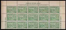 "1940 Olympic Fund Labels ""Helsinki - St Moritz - 4 Blocks of 15 MNH"