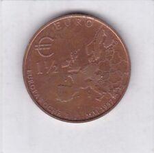 1 1/2 euro europa semana 1997 Berlin Land banco LBB spanska portón oso de Berlín