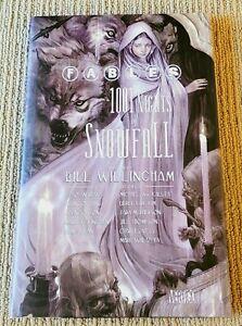 Fables 1001 Nights Of Snowfall HC 1st Print Bill Willingham NM Vertigo 2006
