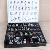 32pcs/set Domestic Sewing Machine Presser Foot Feet for Brother Janome Singer