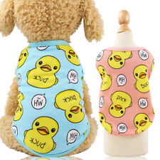 Pet Summer Clothes Vest Puppy Dog Cat Cute T Shirt Coat Costumes for Shih Tzu