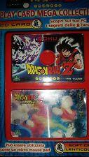 """DRAGON BALL Z-""""GOKU"""" CD PLAY CARD MEGA COLLECTION- Giochi Preziosi  1"""