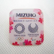 Mizuho Tokyo 2020 olympic pin