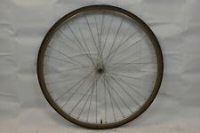 "Ukai 27"" Front Road Bike Wheel Shimano Hub Silver OLW100 18mm 36S AV US Charity!"