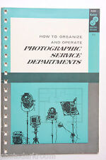 Kodak 1961 P-17 How To Operate Photo Service Dept Info Guide - English USED B60