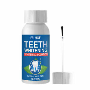 30ML Teeth Whitening Solution Healthy Quick Effect Safe Effective for Tooth
