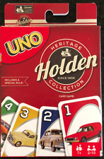 UNO Holden Car Card Game Heritage Collection by Mattel