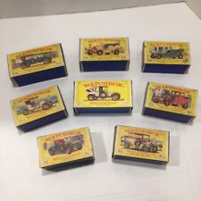 VINTAGE Lesney MATCHBOX - MODELS OF YESTERYEAR CARS - BOXES ONLY - LOT OF 8