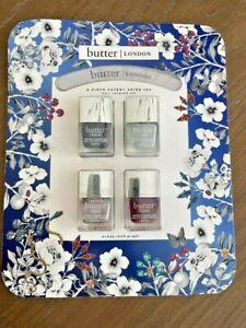 Butter London 4-Piece Patent Shine 10x Nail Polish Set With Nail File