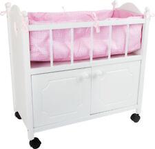Legler - Dolls Cradle with Wardrobe - 2875