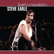 STEVE EARLE New Sealed 2017 LIVE AUSTIN TEXAS CONCERT DVD & CD SET