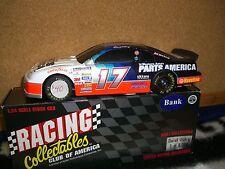 1/24 RCCA Nascar #17 D. Waltrip Parts America BW bank