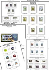 Print a Tristan da Cunha Stamp Album, fully illustrated and annotated