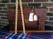 VINTAGE 1930's CHINESE TRUNK CO BASEBALL GLOVE LEATHER BRIEFCASE BAG $898