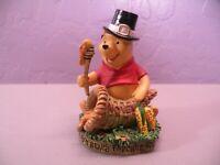 Disney Winnie the Pooh November Perpetual Calendar Danbury Mint Figurine