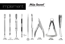 Mia Secret Professional Nail Art Tools - Pusher Cutter Caliper - CHOOSE YOURS