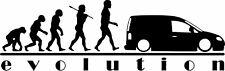 EVOLUTION C a d d y Camper Vinyl Decal Car/Van/Window Sticker Dub Euro Maxi