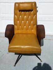 Mid century ORIGINAL Mulhauser high back lounge chair