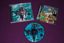 BREATH OF FIRE IV 4 - Capcom - RPG Jeu de Role Playstation PS1 NTSC US